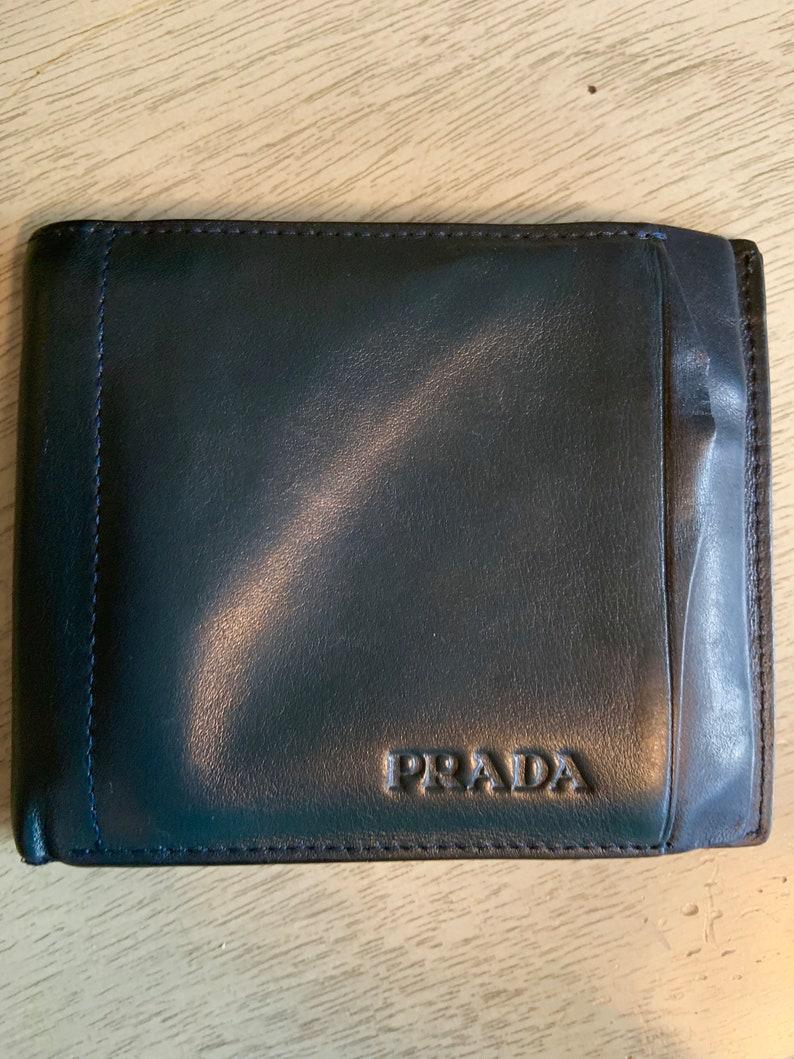 1f03a13a584f6a Vintage Prada Wallet | Etsy
