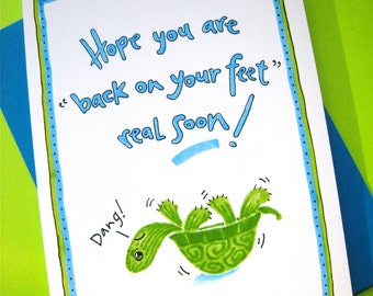 feel better card etsy
