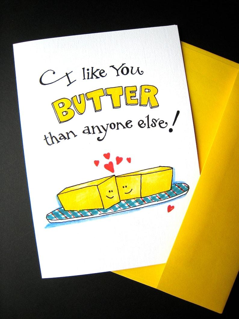 Funny Pun Card  Valentine Card  Food Pun  Funny Valentine  image 0