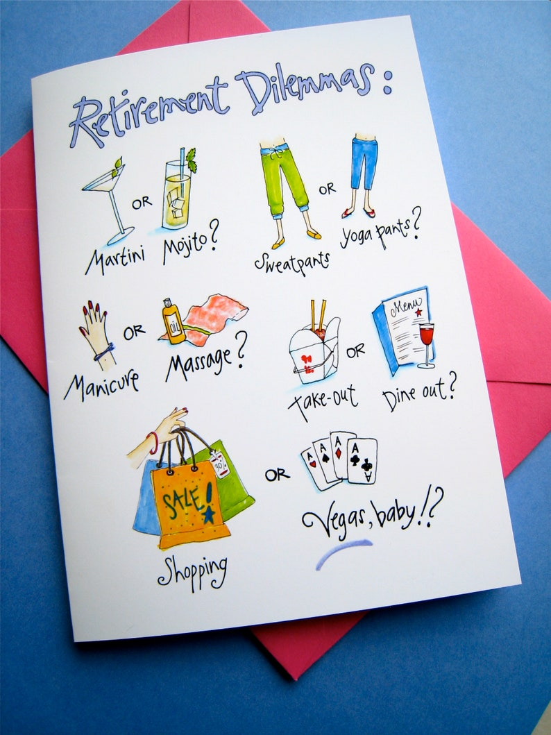 Women Retirement Card  Funny Retirement  Her Retirement  image 0