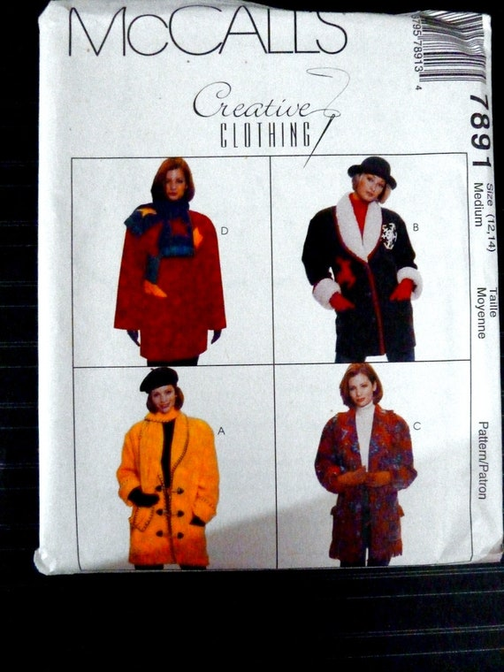Simplicity 2341 Misses Jackets Vests Sewing Pattern Sz 6-14