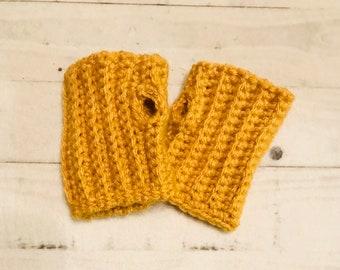Gehäkelte Handschuhe Baumwolle Und Acryl Häkeln Baby Etsy