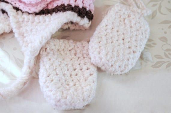 Bambus Häkeln Baby Handschuhe 1 2 Jahren Mit Daumen Infant Etsy