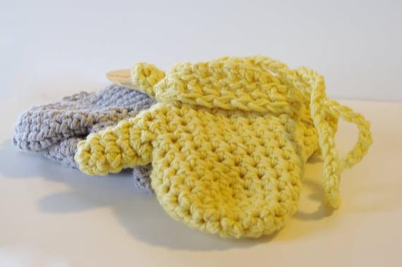 Häkeln Sie Baby Handschuhe Aus Baumwolle Pick Ihre Farbe Etsy