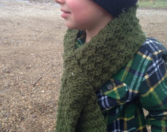 Toddler Scarf - Toddler Boys And Girls Scarf - Pick Your Color