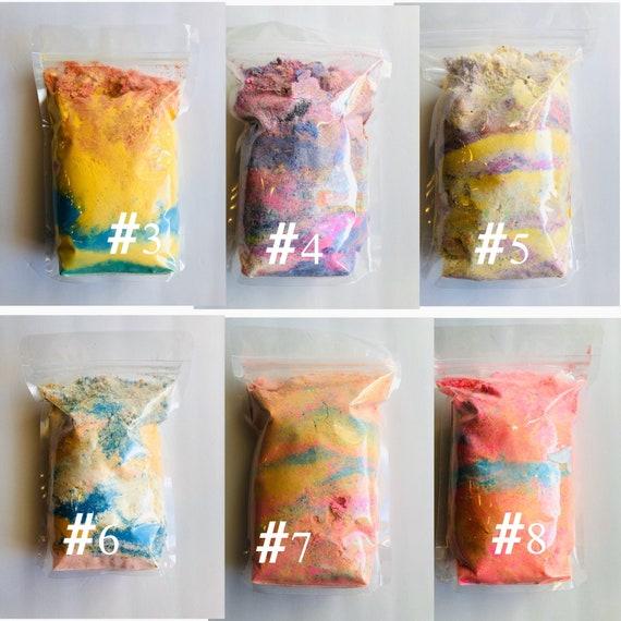 Fizzy bath powder/ bath bomb dust 1lb 8oz