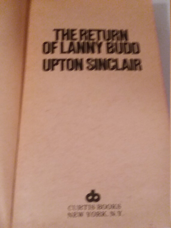 The Return Of Lanny Budd 11 Upton Sinclair Curtis Books 02024 Etsy
