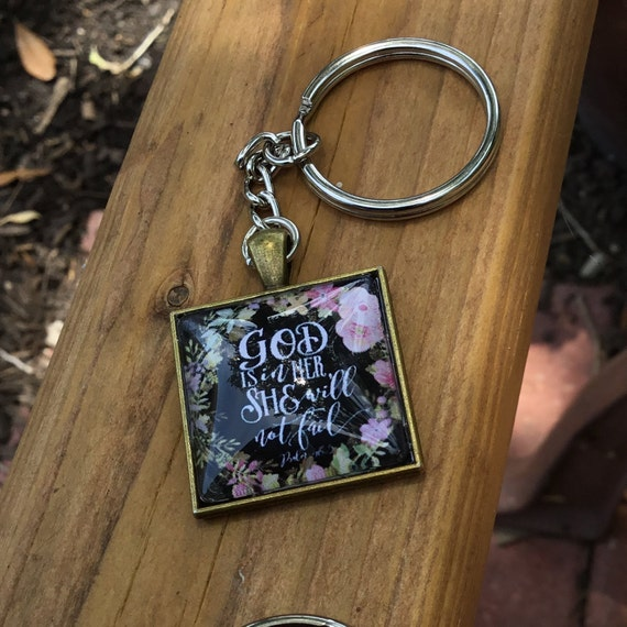 Scripture Key Chain, Keychain, Mother's Day, For Her, Accessories, Under 15 dollars