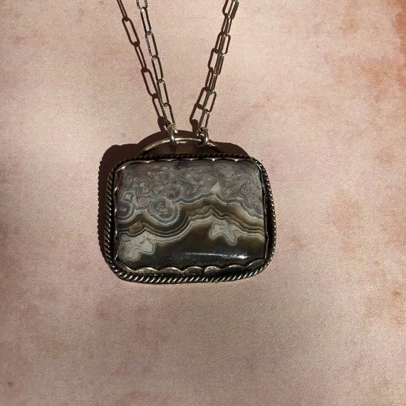 Brown Crazy Lace Agate, One of A Kind, SRAJD, Metalcraft, Silversmith, 925 Silver, Unique Jewelry, Under 45 Dollars