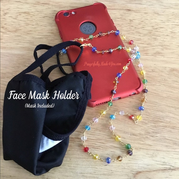 Face Mask Holder, Face Mask Lanyard, Mask Holder, Lanyard, Under 15 Dollars