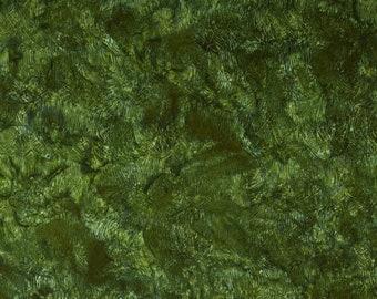 Green Apple Island Batik Tropical Escape Grass