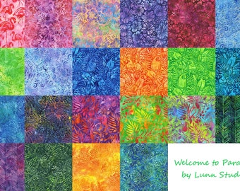 Robert Kaufman Welcome to Paradise Collection Cotton Fabric by the Yard