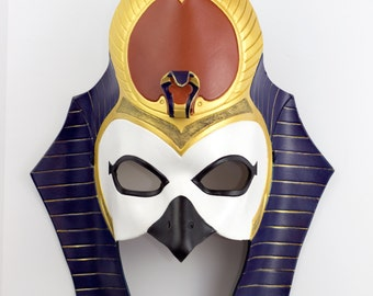 Made to Order: Egyptian God of the Sun, Ra V.2 Leather Mask