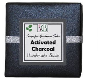 Soap for Goodness Sake Activated Charcoal Soap