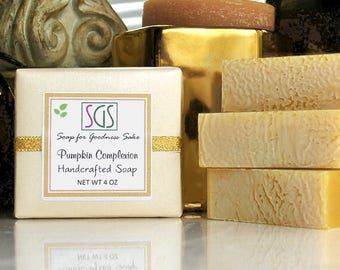 Soap for Goodness Sake Pumpkin Complexion Bar Soap