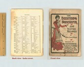 Antique Culinary Ephemera Enterprising Housekeeper 1900 Enterprise Manufacturing Trade Catalog Cook Book Coffee Mills Meat Grinders Irons