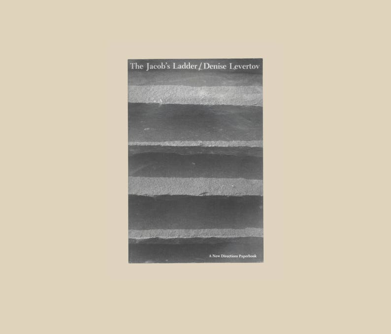 Denise Levertov The Jacob S Ladder Poems Vintage Book A New Directions Paperback Poetry By A Leading Woman Poet