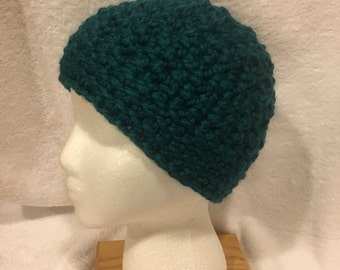 Crochet Messy Bun Cap/Beanie Hat Pony Tail Holder