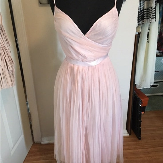 Vintage Pink Party Dress