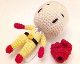 Zoro Roronoa (einteilig) Amigurumi   Gehäkelte spielsachen, Puppe ...   270x340