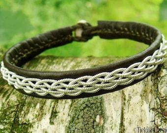 Reindeer leather bracelet DAIN