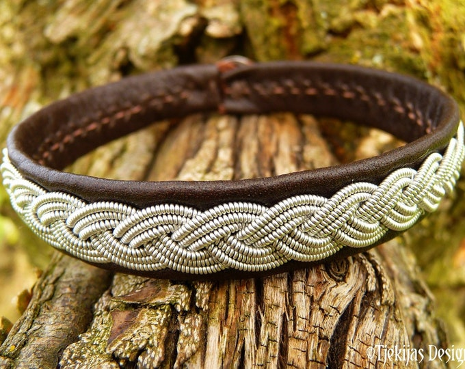 EDDA folklore bracelet cuff, Custom handmade