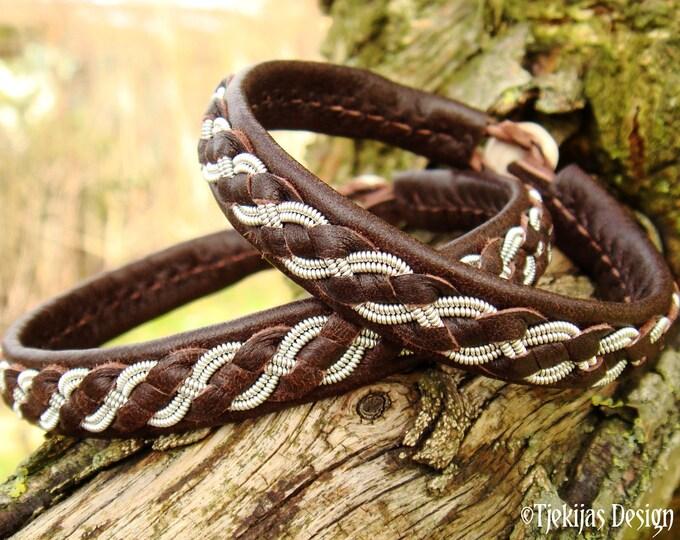 FENRIR Sami bracelet, Swedish handmade tennarmband