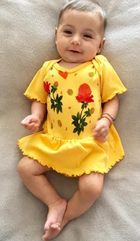 b63237b53f70a Peony Baby Girl Dress Spring Shower Gift Summer Baby | Etsy