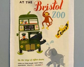 SALE Bristol Tea Towel The Zoo