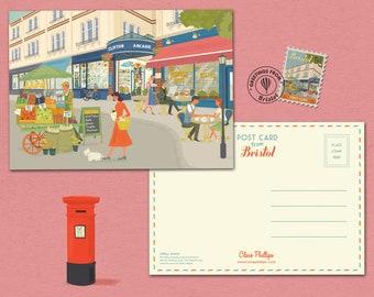 Bristol Postcard Clifton Village