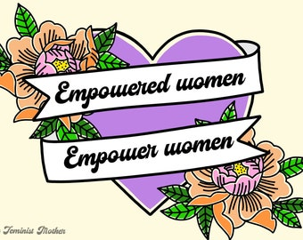 Empowered Women print // Digital Download only