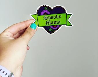 Spooky Mama // Vinyl Sticker