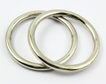 5Pcs O Ring Metal O Ring Inner Diameter 40mm (G8123)