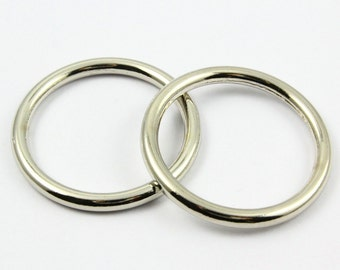 10Pcs O Ring Metal O Ring Inner Diameter 30mm (G8126)