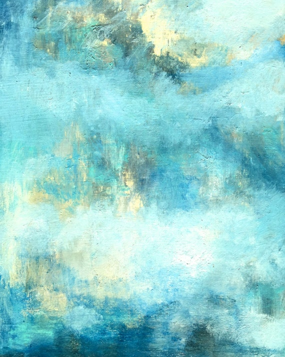 Abstract Oil painting print