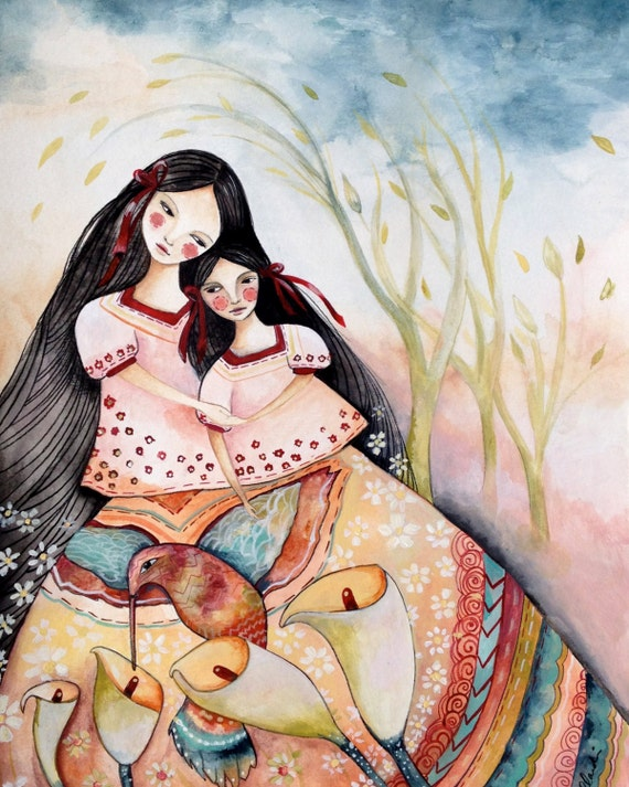 Mayan folktales  mother and daughter