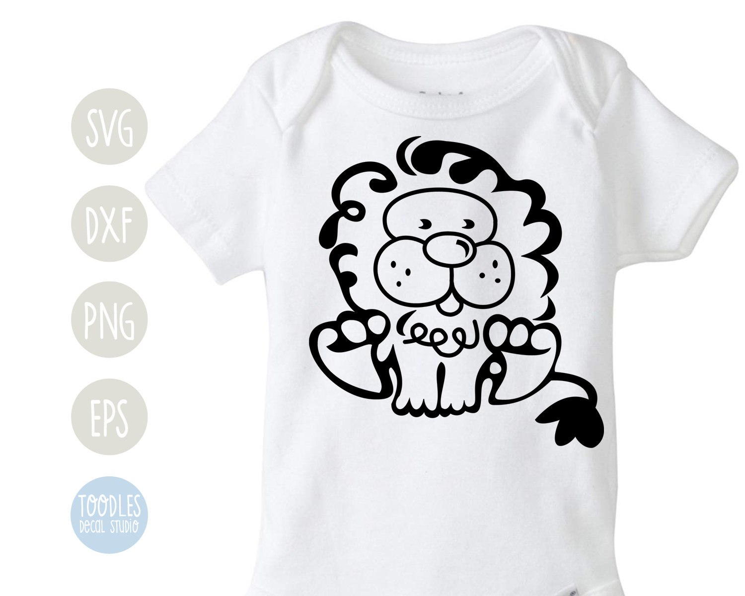 Lion Svg Nursery Single Color Lion Design Free Commercial Etsy