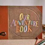 Up Our Adventure Book Wedding Photo Album
