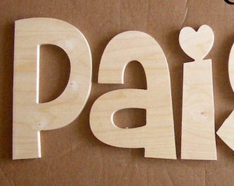6 Ready To Ship Letters Baby Room Kids Room Door Etsy