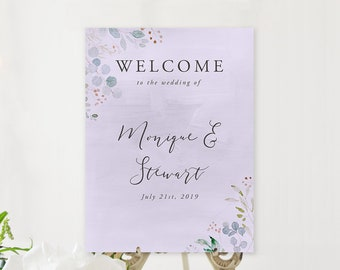 Welcome Sign - Enchanted (Style 13852)