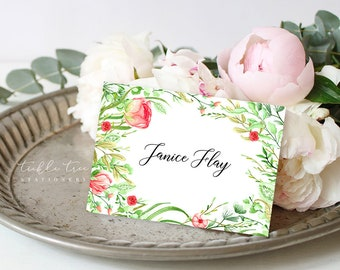 Guest Place Cards - Country Charm (Style 13798)