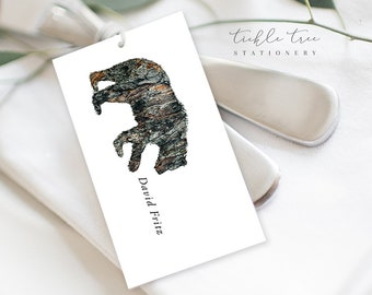 Guest Place Cards - Woodlands Wedding (Style 13768)