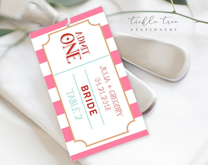 Guest Place Cards - Carnival Fun (Style 13773)