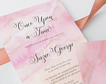 Wedding Invitations - Once Upon A Time (Style 13671)