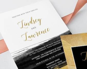 Wedding Invitations - Glamorous Evening (Style 13782)