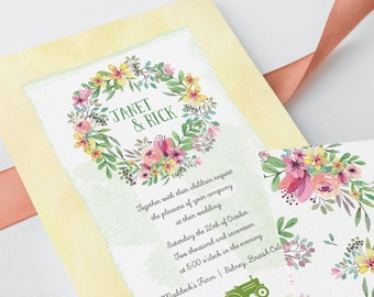 Wedding Invitations - Country Charm (Style 13505)