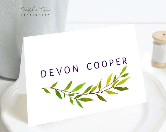 Place Cards - Purple Passion (Style 13785)