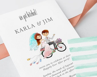 Wedding Invitations - We Got Hitched (Style 13501)