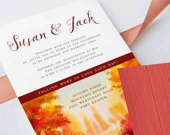 Wedding Invitations - Falling In Love (Style 13562)
