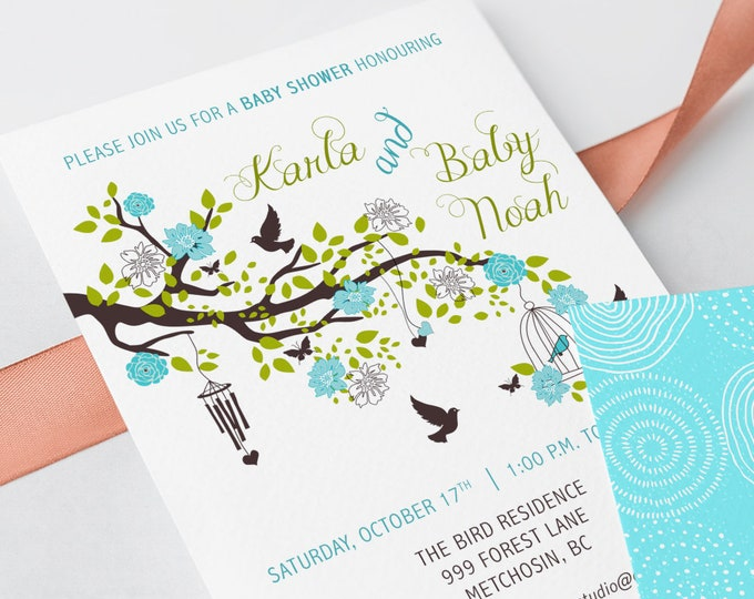 Baby Shower Invitations - Mommy to Be Garden (Style 13734)